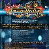 FESTIVAL GADING MUSIC BEAT 2010