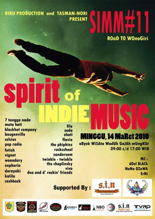 SPIRIT OF INDIE MUSIC